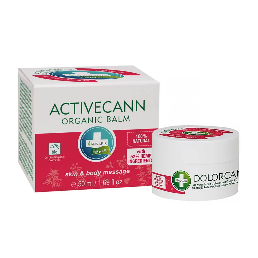 Annabis Dolorcann Hemp Pain Relief Massage Balm (50ml)