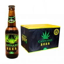 Cannabis Flavoured Beer Green Leaf 330ml - 4.5% Alc. (24bottles/masterbox)