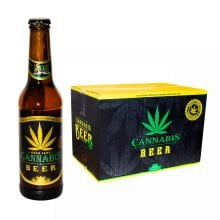 Cannabis Flavoured Beer Gold Leaf 330ml - 4.5% Alc. (24bottles/masterbox)