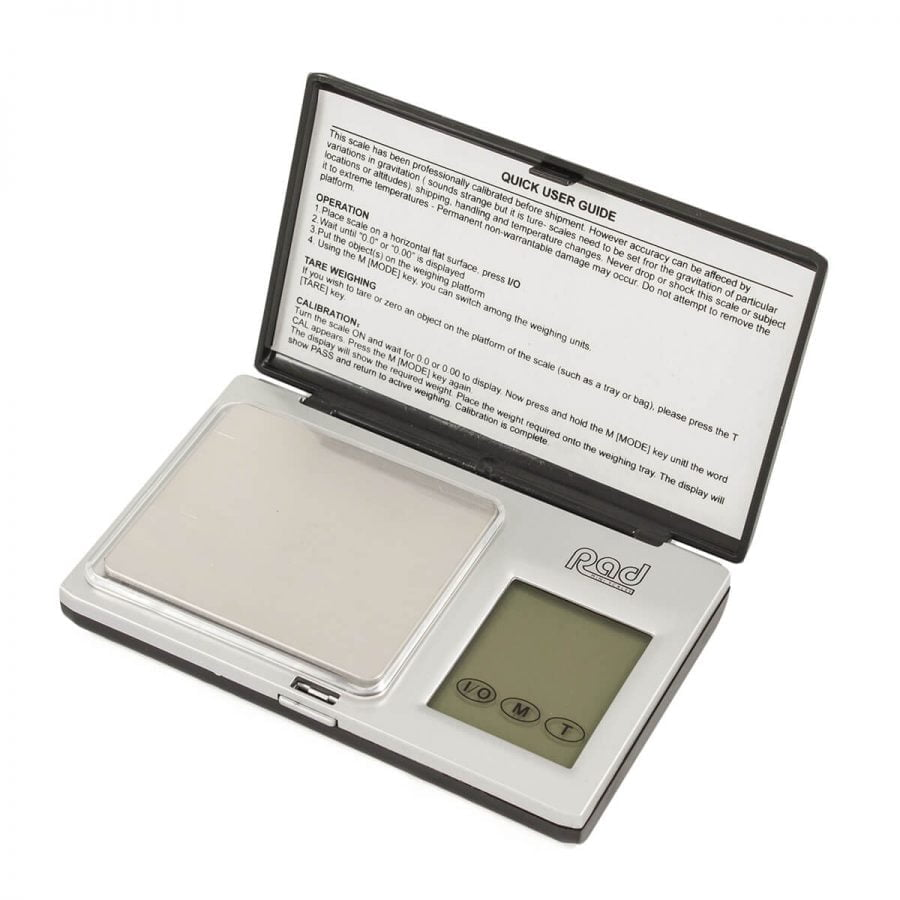 RAD RBW-100 Series 0.01g-100g Digital Scale Touch Screen (batteries included)