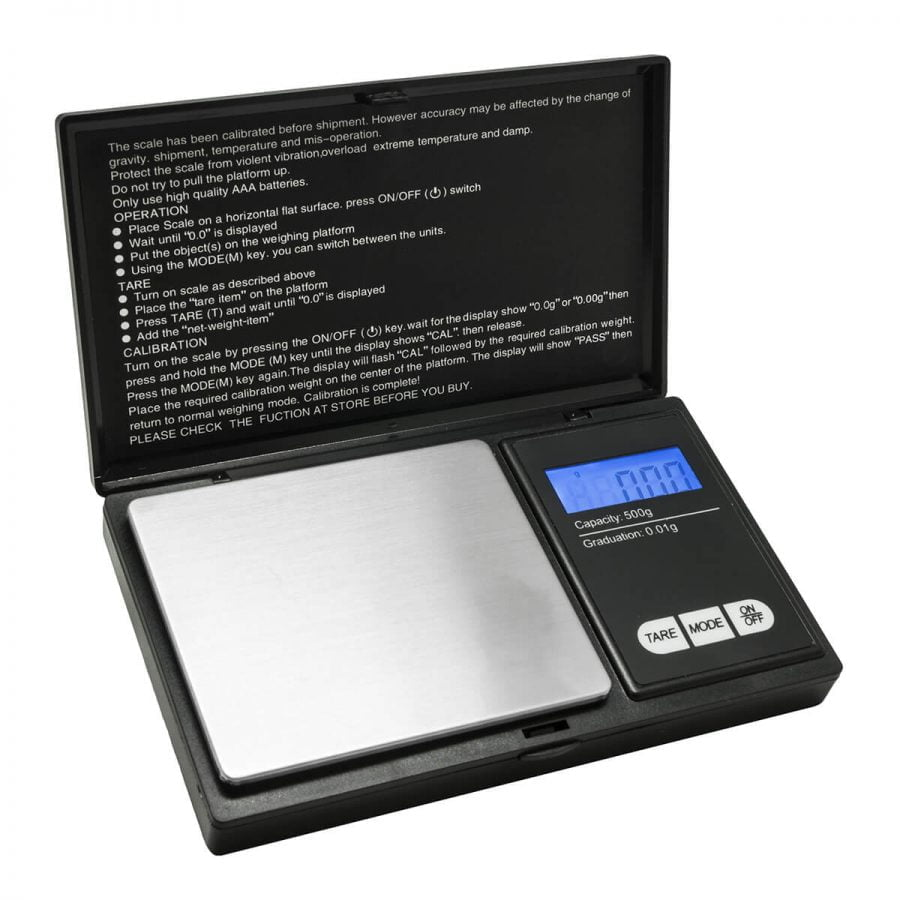 RAD RZ-500 Series 0.01g-500g Digital Scale (batteries included)