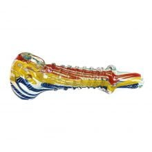 Colorful Twist Glass Pipe 12cm