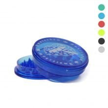 Amsterdam mouth 1 plastic grinder 60mm - 3 parts (20pcs/display)
