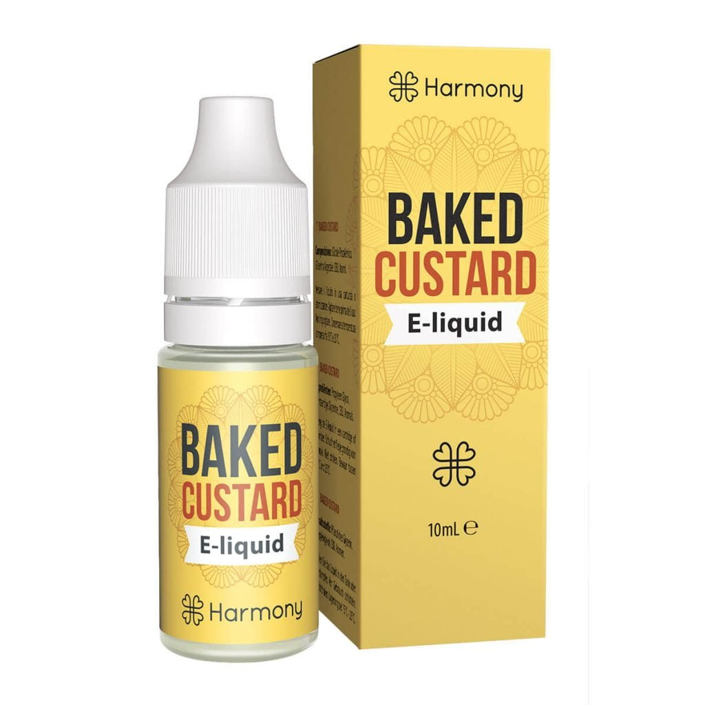 Harmony E-Liquid Baked Custard 600mg CBD (10ml)