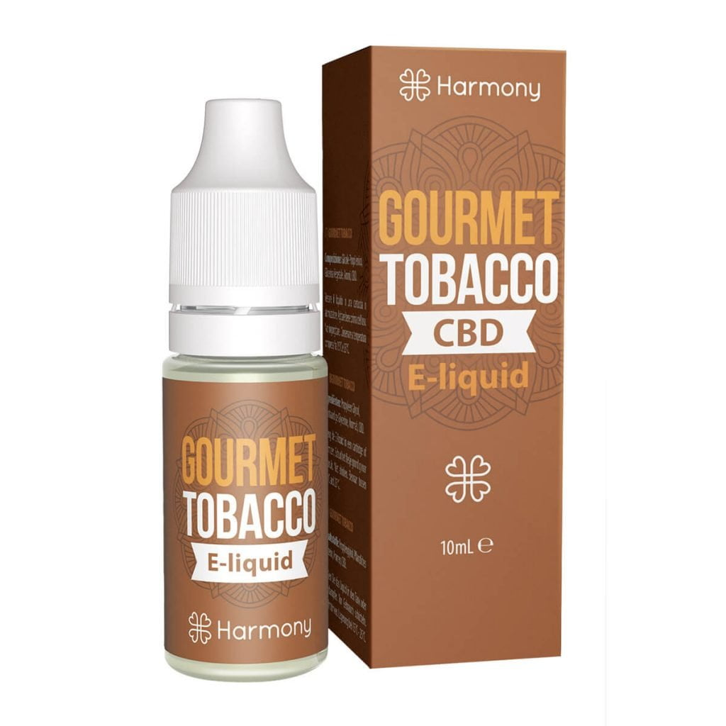 Harmony E-Liquid Gourmet Tobacco 300mg CBD (10ml)