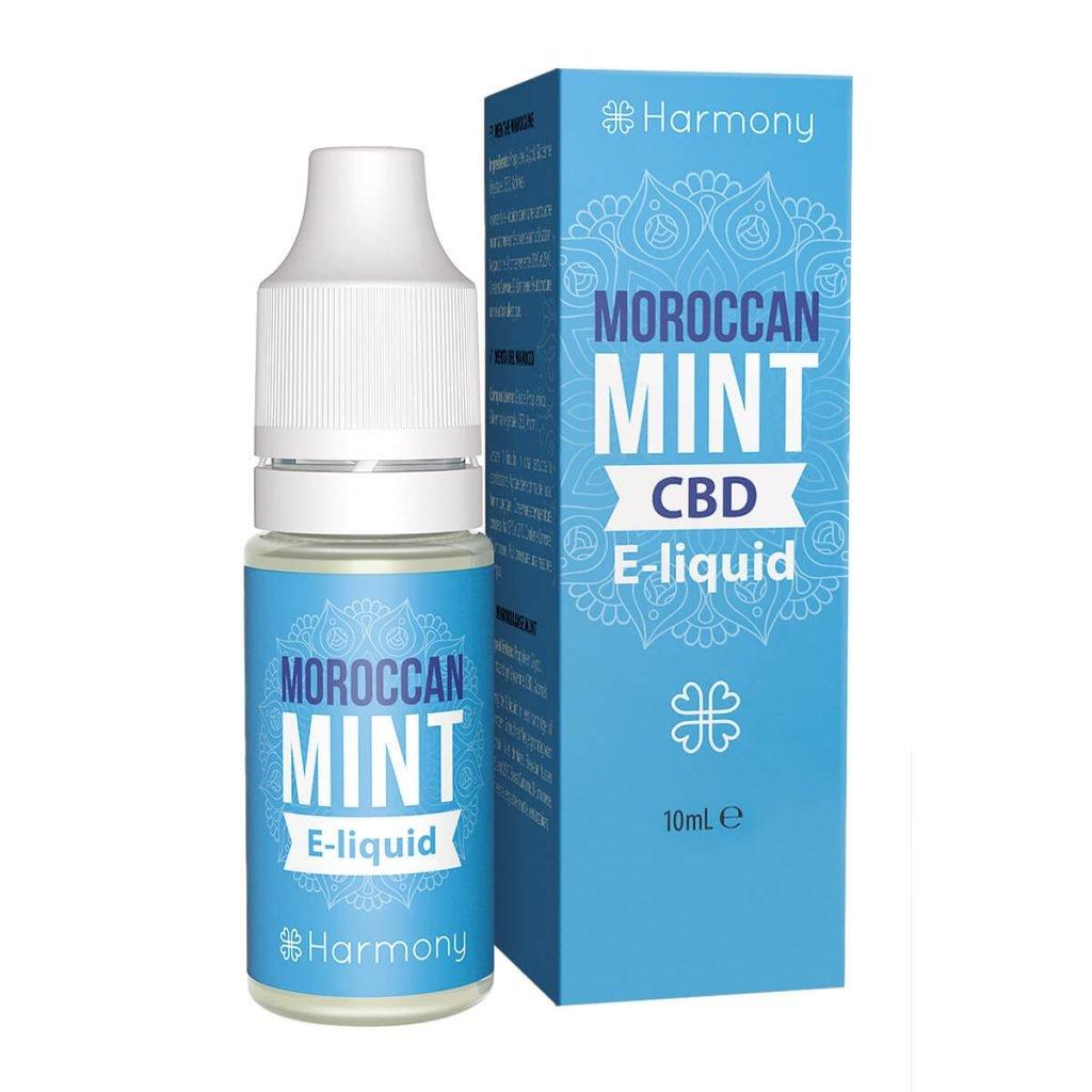 Harmony E-Liquid Moroccan Mint 600mg CBD (10ml)