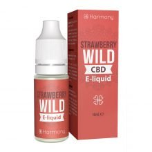 Harmony E-Liquid Wild Strawberry 100mg CBD (10ml)