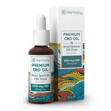 Harmony Selfcare Full Spectrum Drops - Natural Flavor - 3000mg CBD (30ml)