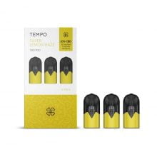 Harmony TEMPO Super Lemon Haze 3 Pods Pack 222mg CBD (3x74mg)