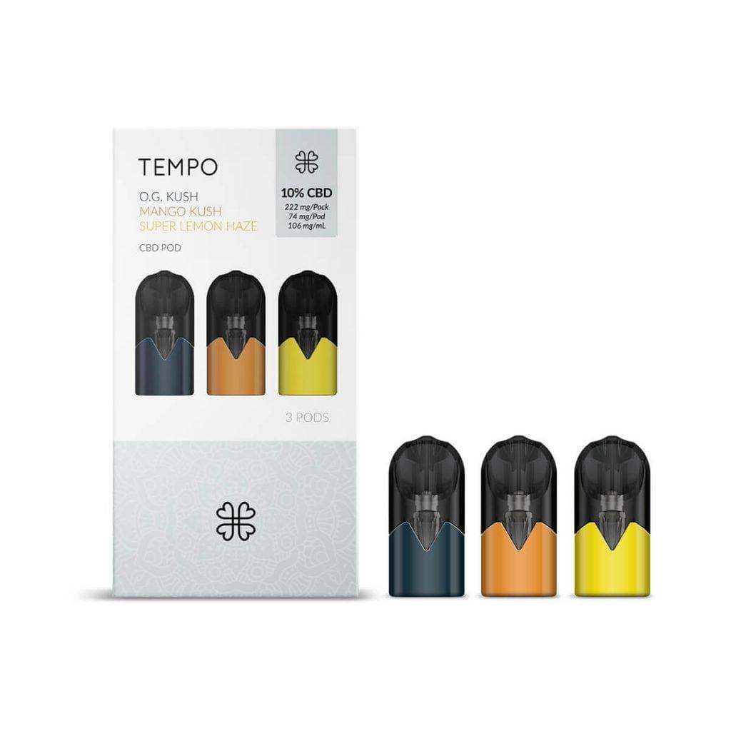 Harmony TEMPO Originals 3 Pods Pack 222mg CBD (3x74mg)