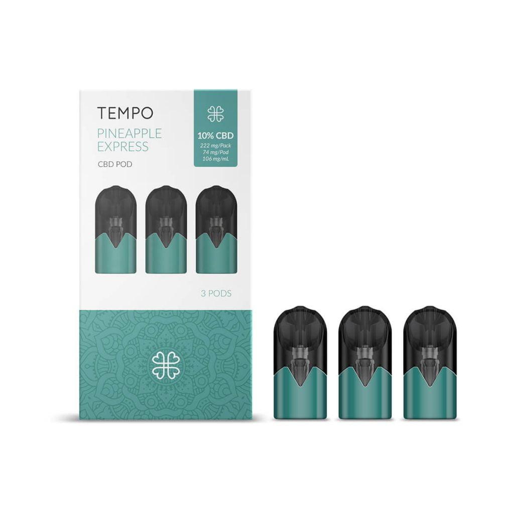 Harmony TEMPO Pineapple Express 3 Pods Pack 222mg CBD (3x74mg)