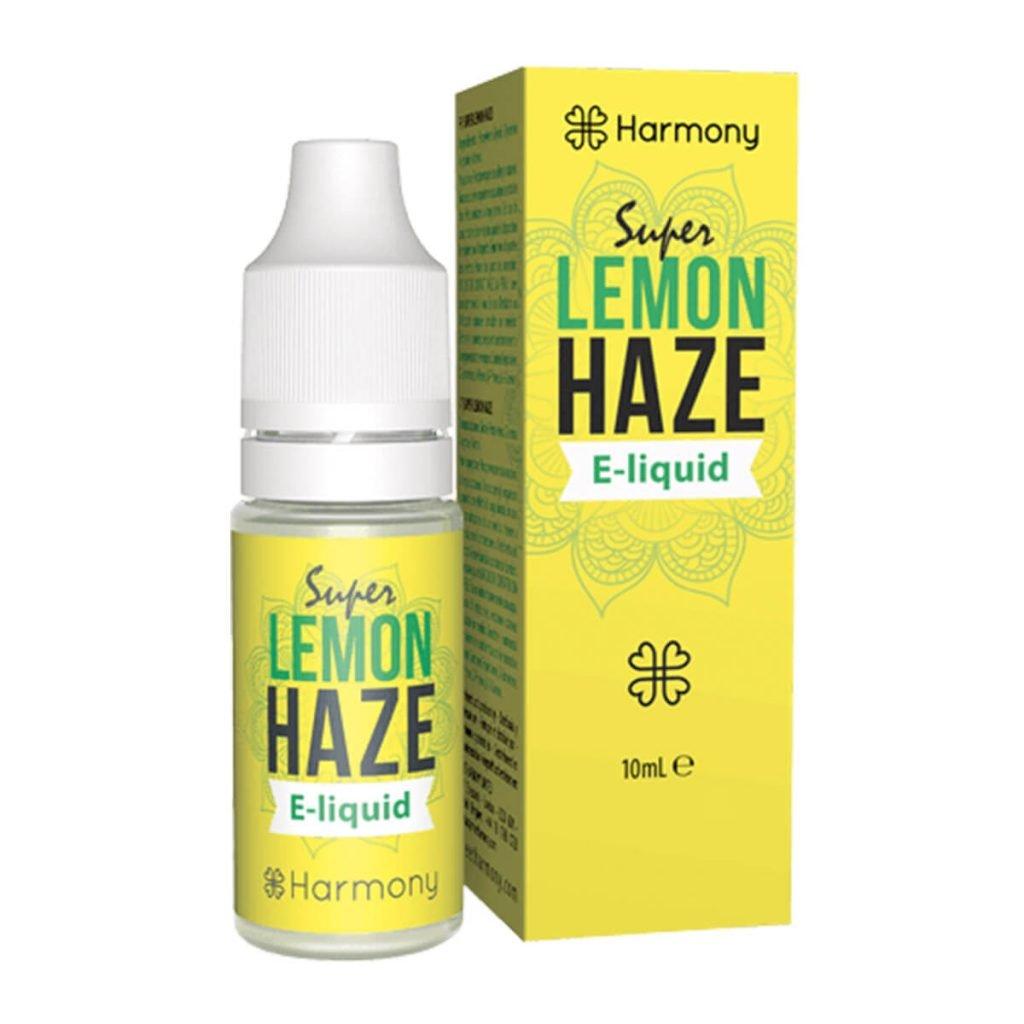 Harmony E-Liquid Super Lemon Haze 600mg CBD (10ml)