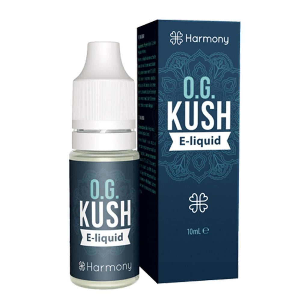 Harmony E-Liquid OG Kush 600mg CBD (10ml)