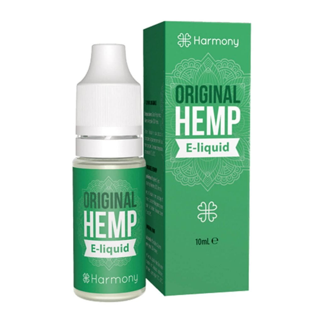 Harmony E-Liquid Original Hemp 300mg CBD (10ml)