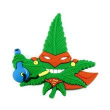 Hempy the Ninja Silicon Cannabis 3D Magnet