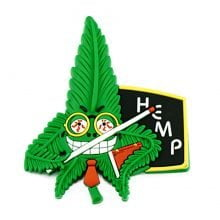 Hempy the Teacher Silicon Cannabis 3D Magnets