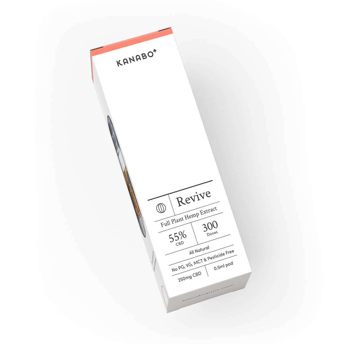 Kanabo Revive 55% CBD 0.5ml Pod Vapepod Competable CCELL Tecnology