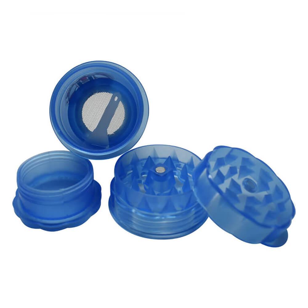 Bottle 1 plastic grinder 40mm - 4 parts (12pcs/display)