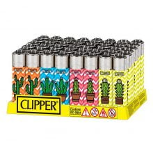 Clipper™ Cactus III lighters (48pcs/display)