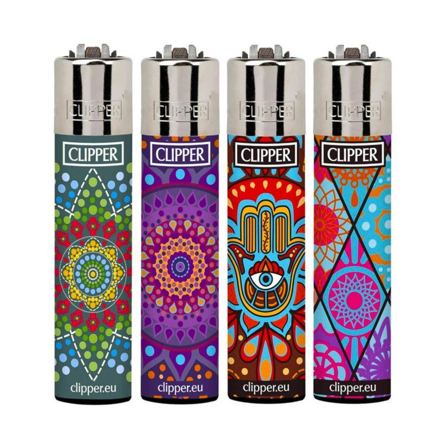 Clipper™ Mandalas 3 lighters (24pcs/display)