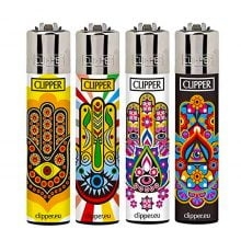 Clipper™ Mandalas 4 lighters (24pcs/display)