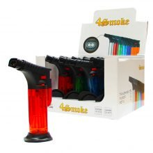 Torch Dab Lighters Windproof Double Flame Mix Color (12pcs/display)