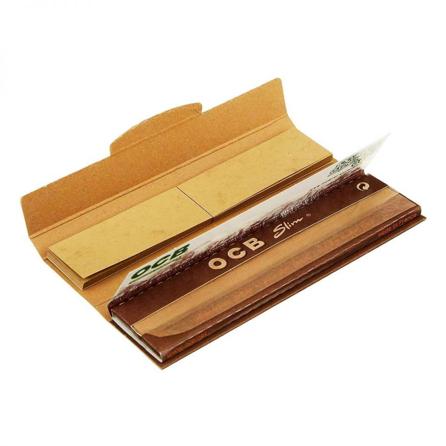 OCB Virgin Paper Kingsize Rolling Papers + Filter Tips (32pcs/display)