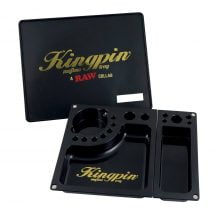 RAW & Kingpin Mafioso Large Rolling Tray