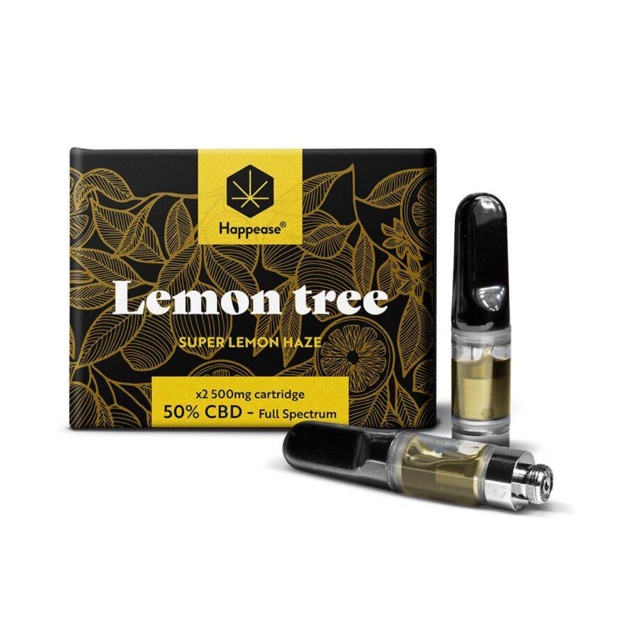 Happease® Lemon Tree 50% CBD cartridge (2pcs/pack)
