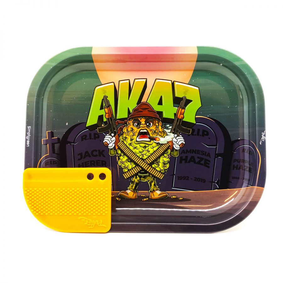 Best Buds - Mission AK47 Small Metal Rolling Tray