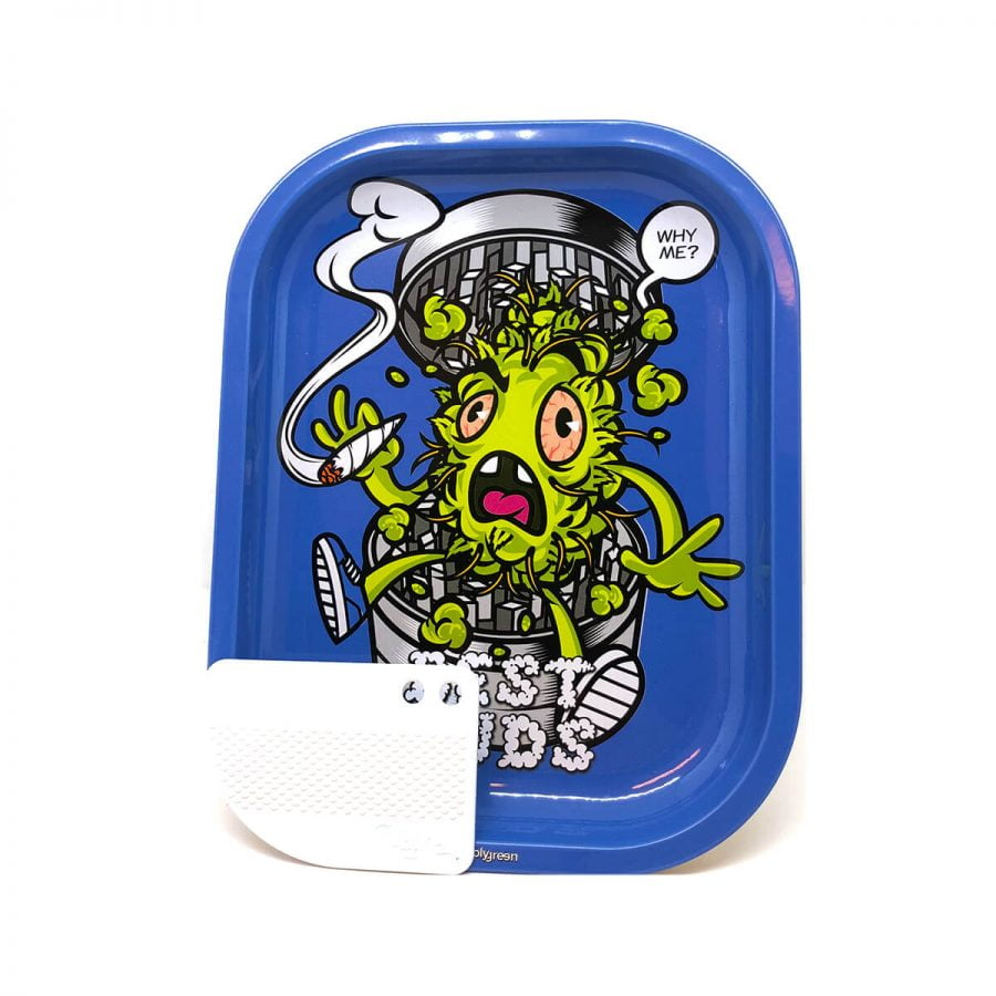 Best Buds - Grind Me Small Metal Rolling Tray