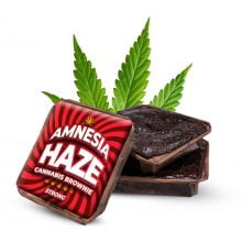Amnesia Haze cannabis brownies THC free (40pcs/box)