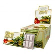 CBD Strawberry haze mint chewing gum THC free (24pcs/display)