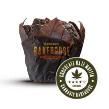 Chocolate Haze cannabis muffins THC free (18pcs/box)