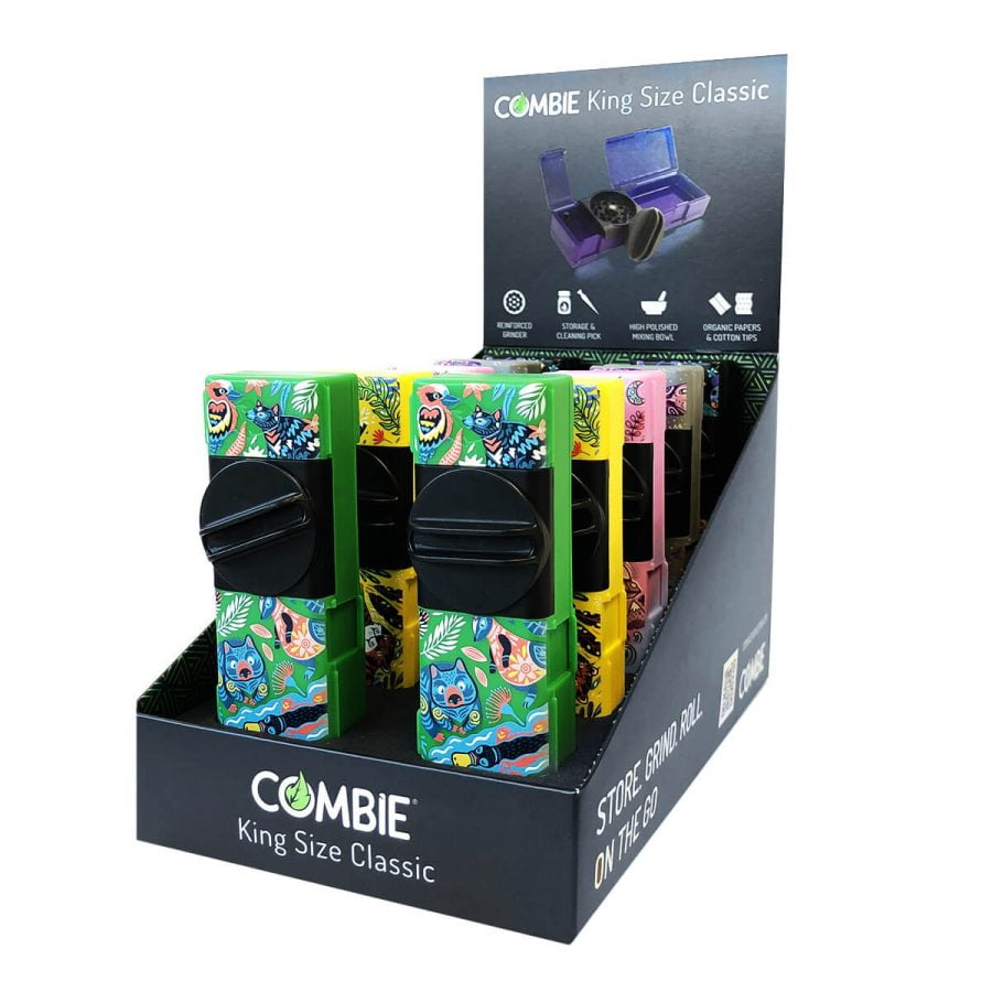 Combie™ All-In-One pocket grinder - Colorful Dreams (10pcs/display)