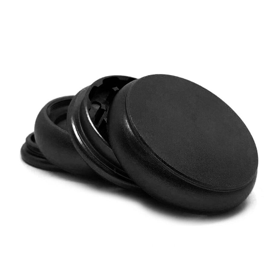 Fat Buddy Black Aluminium Grinders - 55mm - 4 parts (10pcs/display)