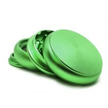 Fat Buddy Green Aluminium Grinders - 55mm - 4 parts (10pcs/display)