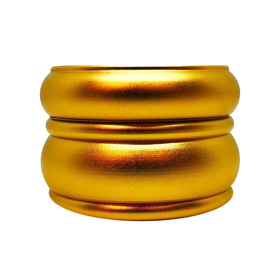 Fat Buddy Gold Aluminium Grinders - 55mm - 4 parts (10pcs/display)