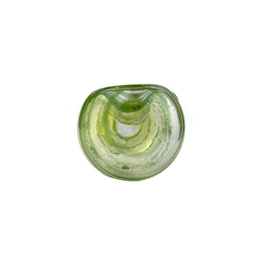 Green Frames Glass Pipe