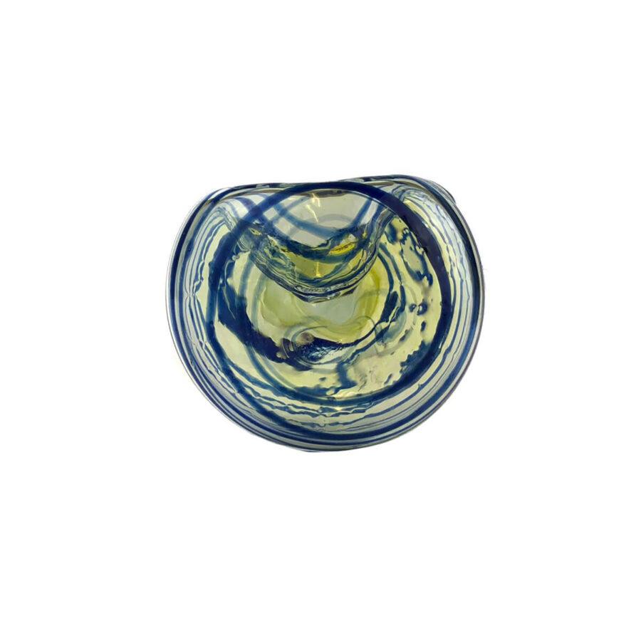 Blue Tornado Glass Pipe