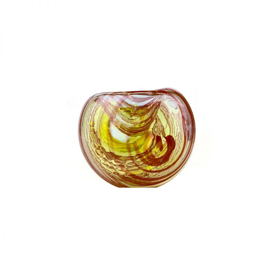 Cool Twist Red Glass Pipe