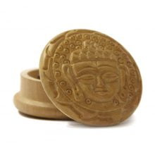 Buddha 1 wood grinder 50mm - 2 parts