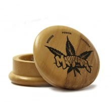 Weed leaf 2 wood grinder 50mm - 2 parts