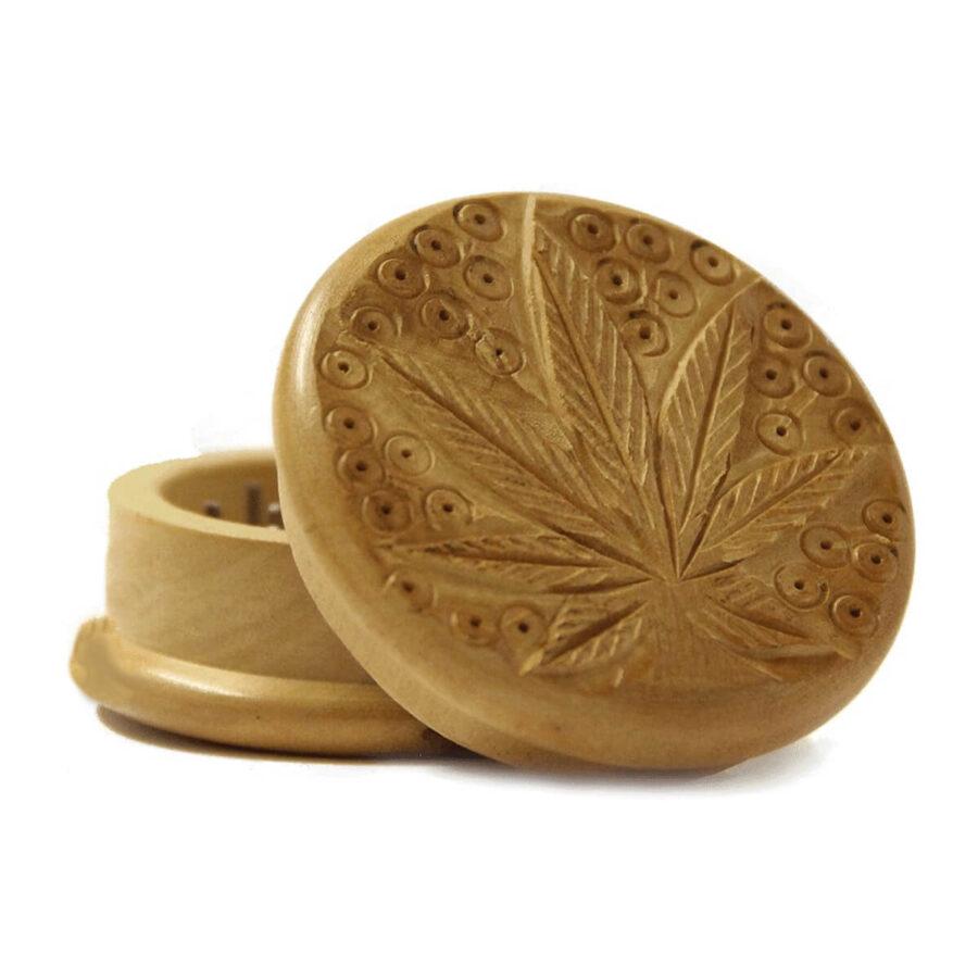 Weed leaf 1 wood grinder 50mm - 2 parts