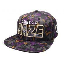 Lauren Rose - Amnesia Haze + built-in stash 420 Hat