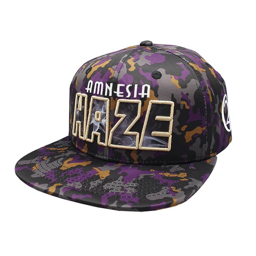 Lauren Rose - Amnesia Haze + built-in stash 420 Hat
