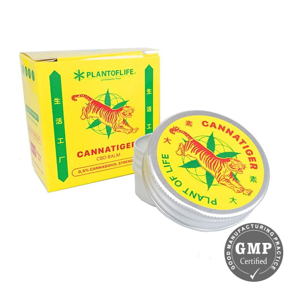 Cannatiger CBD Balm 0.5% - 150mg (30ml)