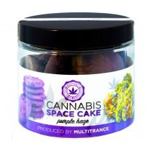 Cannabis Space Cookies Purple Haze THC free (24jars/masterbox)