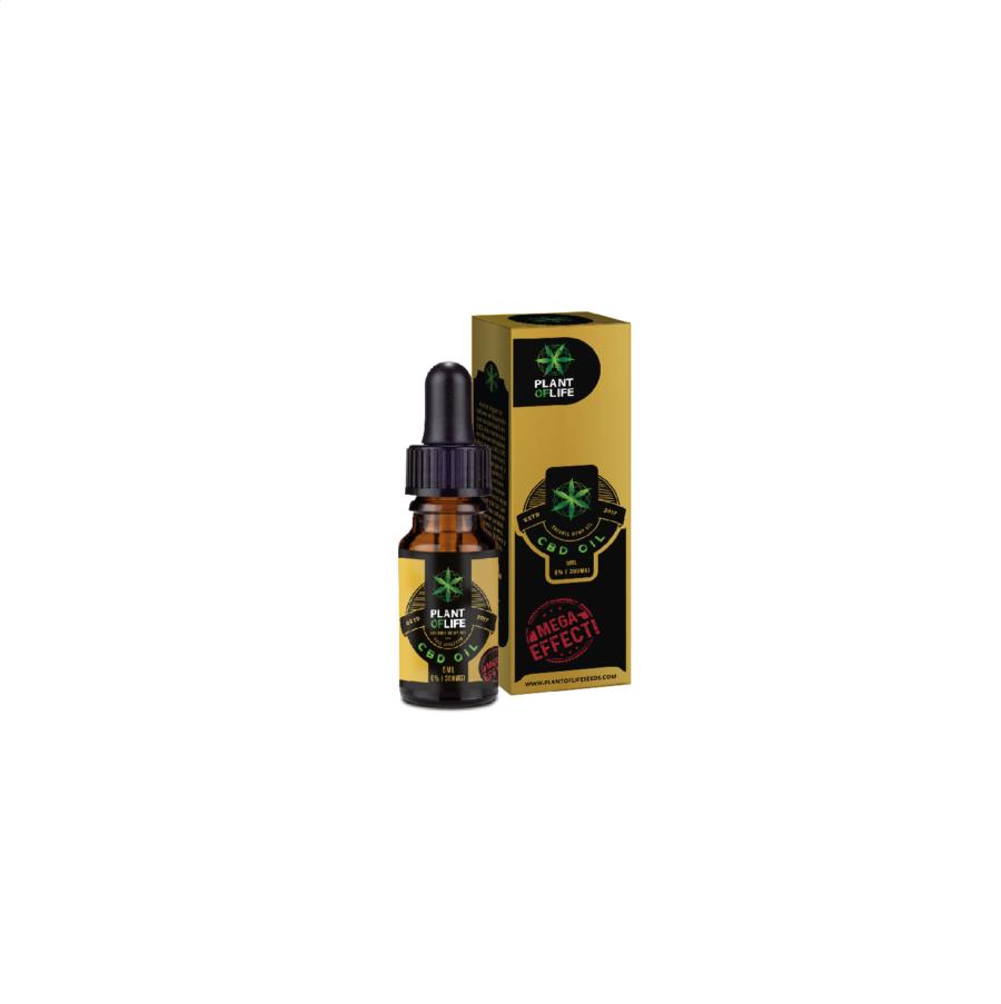 Plant of Life CBD Oil 6% - 300mg (5ml)