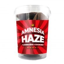 Amnesia Haze Cannabis Cookies THC Free 150g (24boxes/masterbox)